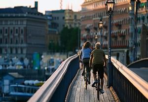 На велосипедах по Карлскруне